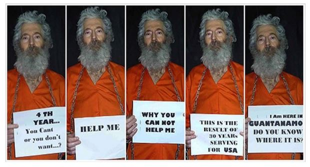 Robert Levinson in Orange Jump Suit