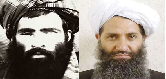 Taliban Leaders Omar and Current Ldr