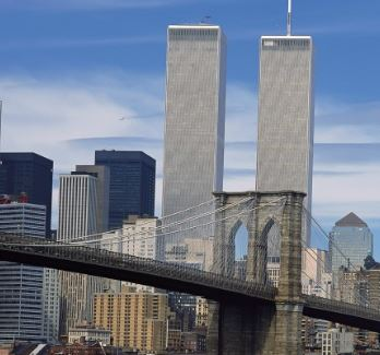 Brooklyn Bridge with WTC