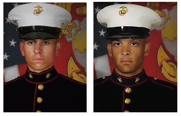 Two Marine Heroes